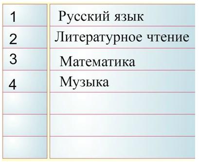 4 tablicy